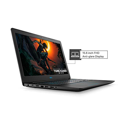 """DELL Gaming-G3 3579 15.6"""" FHD Laptop (eighth Gen Core i5-8300H/8GB/512GB SSD/Windows 10 + MS Office/4GB NVIDIA 1050 Ti Graphics), Black Image 2"""