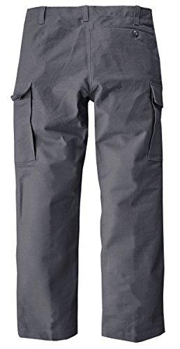 Pantalon militaire style armée allemande moleskin original tL Gris