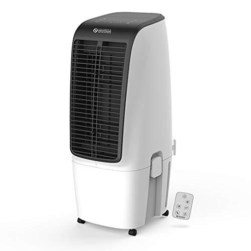 Olimpia Splendid Ventilador Enfriador de Aire evaporativo conTanque Amplio de 20 litros para una Larga autonomía, 99355 Péler 20, 4 Velocidades, Blanco