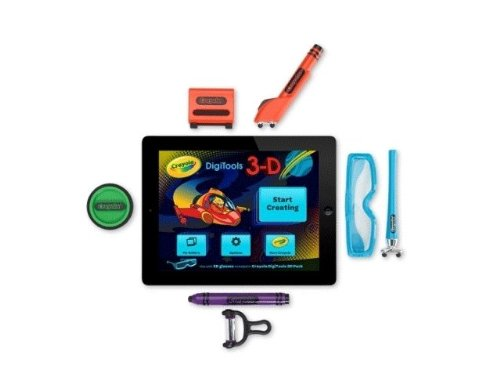 Griffin Technology GC35976 Digitales Malset für Apple iPad - Crayola DigiTools Ultra Pack (3 in 1 Digital Effects ToolKit)