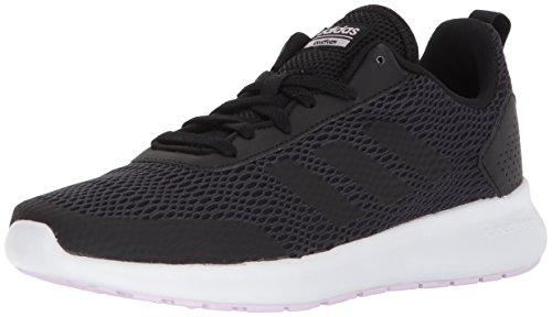 adidas Performance Women's Element Race Running Shoe, Black/Carbon/Aero Pink, 10.5 M US