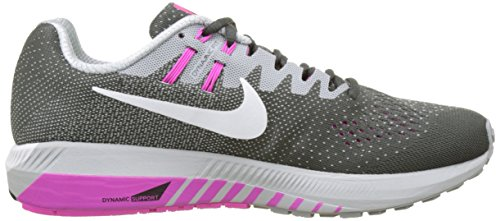 Nike  849577-006, Sneakers trail-running femme Gris (Anthracite/white/wolf Grey/fire Pink/black)