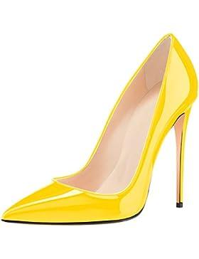 elashe Scarpe col tacco Donna - 4.7 inch High Heel Pumps - Tacco a Spillo Alto - Scarpe Punta Chiusa Donna