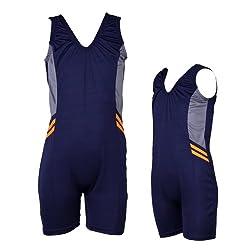 Girls Swimwear - Half Leg Suit - (EG)