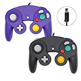 Sp full 2 Packs Classic Wired Gamepad Controllers Compatible with Wii Gamecube Console
