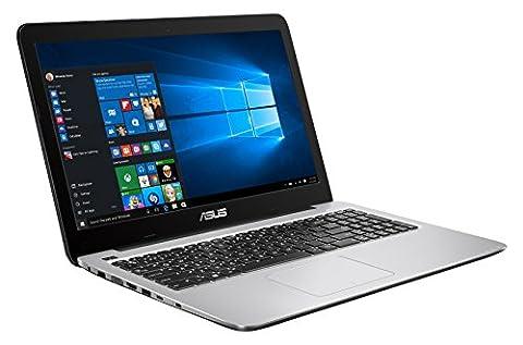 Asus Premium R558UA-DM1055T PC portable 15'' Full HD Bleu nuit (Intel Core i5, 4 Go de RAM, Disque dur 1 To + SSD 128 Go, Windows 10, Garantie 2 ans)