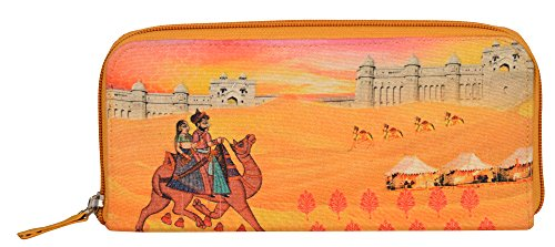 Eco Corner - Indian Art Camel - Hand Clutch - 100% Cotton / Washable / Eco Friendly / Premium Quality / Printed...