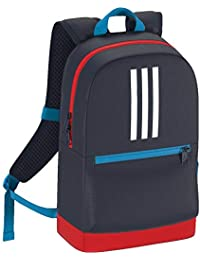 1ebc9b41cd73 Adidas Kids Navy Blue 3-Stripes Backpack