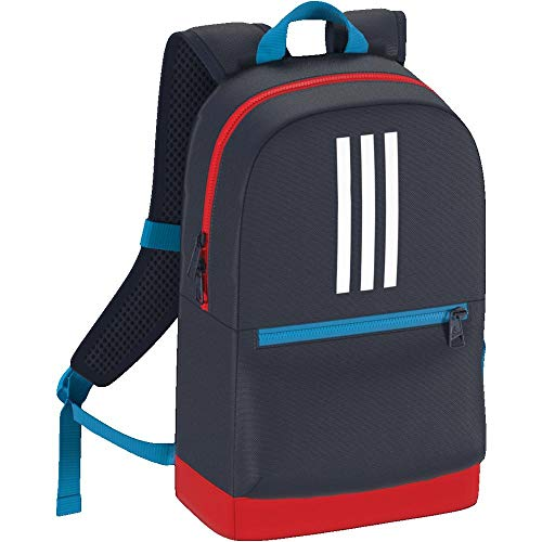 adidas Kinder 3S BP Rucksack Collegiate Navy/Active Red/White 35 cm