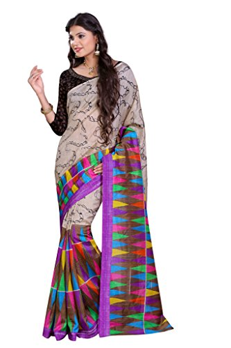 Glory Sarees Silk Saree (Vnart02_Multi Color)