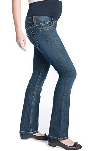 Christoff Designer Jeans Boot-Cut extralang Damen Jeanshose Umstandsmode 638/89-46 Length: 32 Designer-baby Jeans