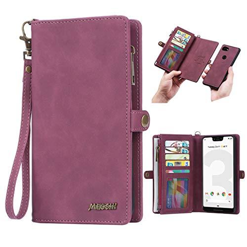 Pixel 3A XL Brieftaschen-Hülle, Simicoo Pixel 3A