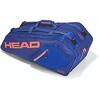 Head Tasche CORE 9 R SUPERCOMBI Tennistasche Blau-Orange