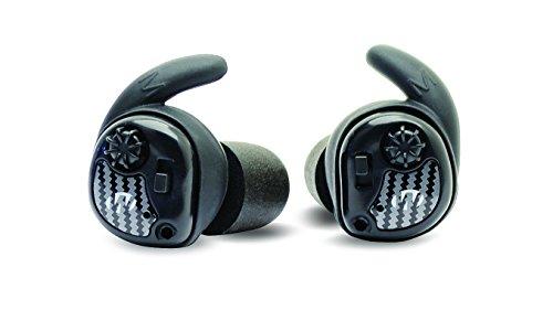 Walker's Game Ear Unisex Rasierer Schalldämpfer Kopfhörer (Paar), schwarz, 1Stück (Ausrüstung Ente-jagd)