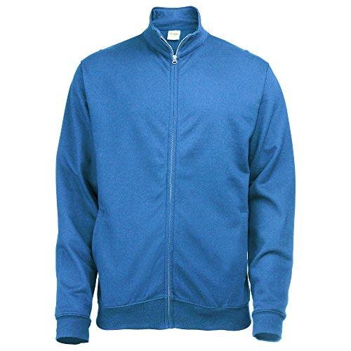 Just Hoods by AWDis Fresher Full Zip, Sweat-Shirt Femme Bleu roi