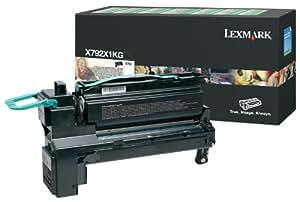 Lexmark X792X1KG Cartouche laser pour Lexmark X792 Noir