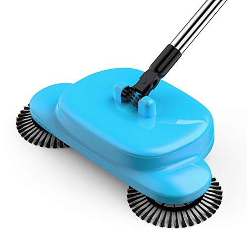 EASON Hand-Push-Kehrmaschinen, Lazy Broom Household Clean Automatische Kehrmaschine Magic Broom Dustpan Combination -