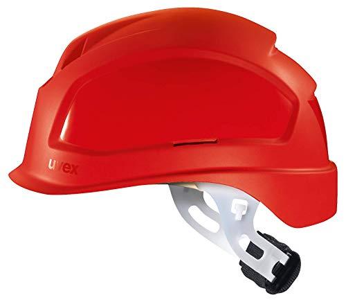 Uvex Pheos E-S-WR - Casco da elettricista, non ventilato, colore: Rosso