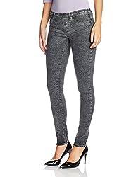 Lee Womens Skinny Jeans (LEJN5278_Sky Bleached Black_32)