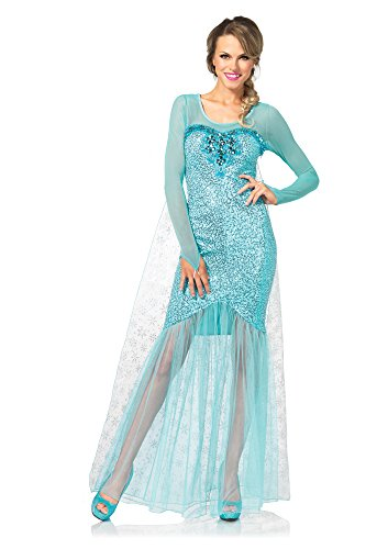 Leg Avenue 85408 - Fantasy Snow Queen Damen kostüm, Größe Large (EUR 40)