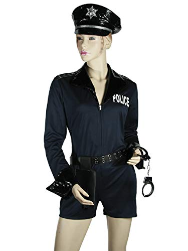 OOTB Karnevals Fasching Kostüm Sexy Polizistin Polizei Cop in 3 Grössen ()