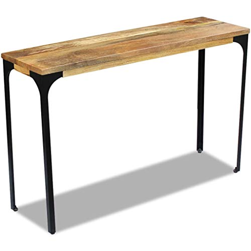vidaXL Mangoholz Konsolentisch Konsole Beistelltisch Schreibtisch Sideboard