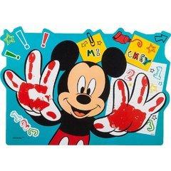 Ciao- mickey mouse tovaglietta plastica, blu, 33949
