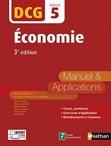 Economie - DCG 5 - 3e édition
