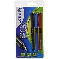 Pilot V5 - Blíster de bolígrafos, 3 unidades