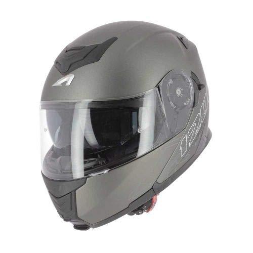 Astone Helmets CROSS TOURER GRAPHIC ADVENTURE white//black Casque de motocross homologu/é en polycarbonate Casque int/égral polyvalent 3 en 1 enduro route et trail