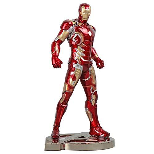 Marvel-Modell Spielzeug - Avengers 3 Infinite War Iron Man MK43 Action-Figur 12 Zoll for Kindergeburtstagsgeschenk-Sammlung - Inch Superman Action-figur 12