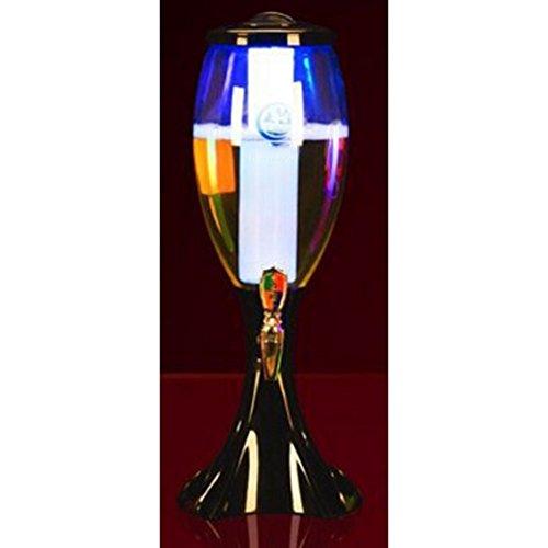 yiyang Jarra De Vino, Cerveza Distribución Dispositivo, Escocés Whisky Bourbon Vodka Y Vino, Servidor De Bebidas, Accesorios para El Vino 1.5L / 2L / 3L, Bar,Black3l