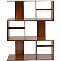 Bambú Estante Simple Rack Sala De Estar Piso Creativa Pequeña Librería Multi-Size Opcional,XL