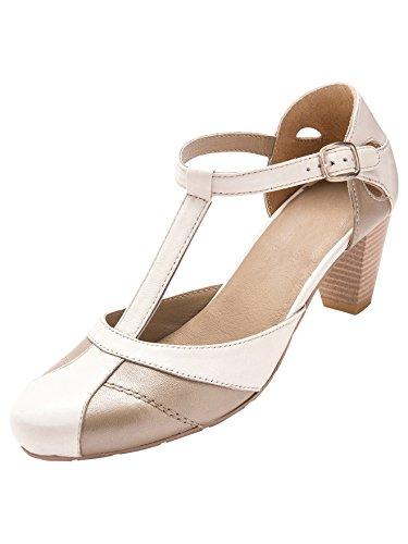 Pediconfort Damen Pediconfort Sandalen Damen Sandalen Weiß Beige Weiß 7q578r