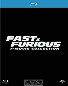 Fast & Furious - Film Collection (7 Blu-Ray)