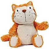 NICI - Hungry, gato de peluche, 35 cm, color naranja (39027)
