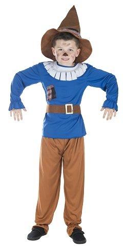 Monster Vogelscheuche Kinder Kostüm Größe M Karneval Scarecrow 50121