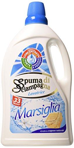spuma-di-sciampagna-detersivo-lavatrice-marsiglia-profumo-sapone-naturale-33-lavaggi-2-flaconi-da-19