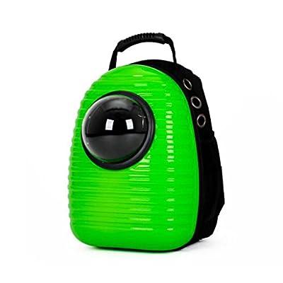 Desconocido UU Mascotas Kit Portátil Saliente para Mascotas Cat Chest Pack Dog Bag Bolso para Mascotas Pet Carrier ( Color : Verde ) de UU