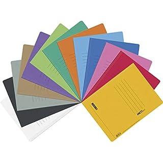 Brunnen Schnellhefter Papphefter 13 Farben extra stark 375g | 13er Packung, Farb Mix intensiv