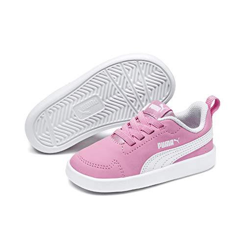 Puma Unisex-Kinder Courtflex Inf Sneaker, Rosa (Pale Pink-Puma White), 23 EU