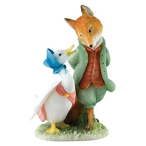 Beatrix Potter A27676 Jemima Foxy, Resin, Multi, 4 x 0.5 x 0.8 cm