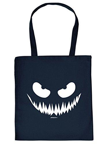 Gruselige Halloween Baumwolltasche : Halloween / Kürbis Gesicht -- Goodman Design -- Tasche für Süßigkeiten Farbe: - Für Gesicht Halloween-kürbisse Designs