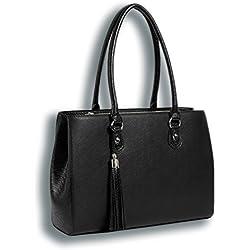 My Best Friend is a Bag ist eine Laptop-Tasche Grau für Frauen | Eine sehr leichte, handgefertigte Schultertasche für 13 Zoll Computer, Tablet & iPad | Ideal für das Büro
