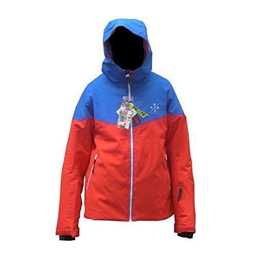 Jacke Skifahren Herren WATT Ganzo1 rot/blau - L