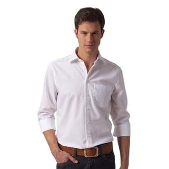 Seidensticker Herren Hemd/ Business 3005, Gr. 38 CM (S), Weiß (01 weiß)