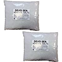 Hexeal DEAD SEA SALT | 10KG BAG | 100% Natural | FCC Food Grade