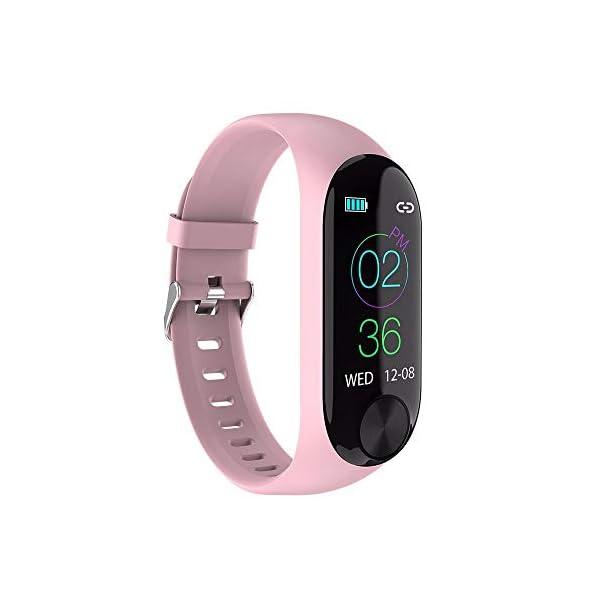 Smartwatch Unisex Miss Fortan Reloj Digital Deportes Fitness Actividad Reloj Mujer Hombre Impermeable Reloj de Pulsera… 2