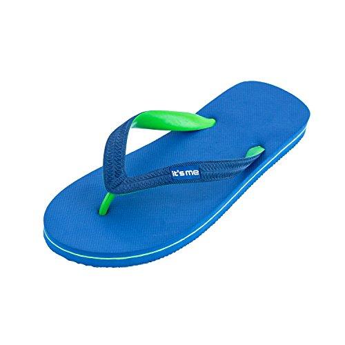it's me Flip Flops Herren | die weichsten Flip Flops Aller Zeiten | 100% Naturkautschuk | Basic Style | schadstofffrei | 0% PVC