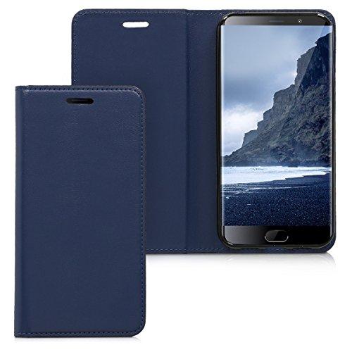 kwmobile Elephone S7 4G LTE Hülle - Kunstleder Handy Schutzhülle - Flip Cover Case für Elephone S7 4G LTE